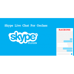Skype Live Chat Plugin For Osclass