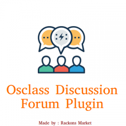 Osclass Multilanguage Discussion Forum Plugin