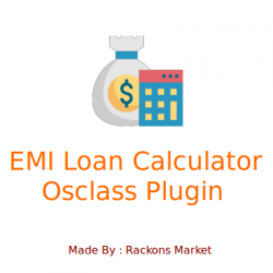 EMI Loan Calculator Plugin for Osclass
