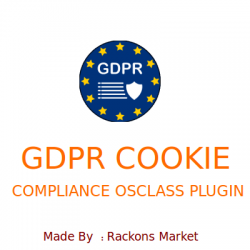 GDPR Cookie Compliance Osclass Plugin