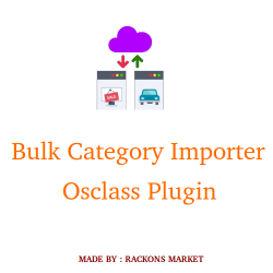 Bulk Category Importer Osclass Plugin