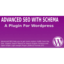 Advanced SEO With Schema Wordpress Plugin
