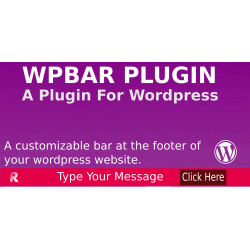 WP BAR Plugin For Wordpress